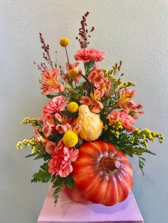 Pumpkin Arrangement Arrangement