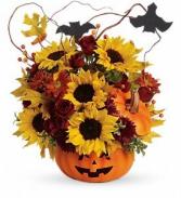 Pumpkin Arrangement Halloween