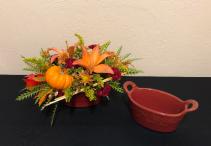 Pumpkin Bake Keepsake Casserole Dish Centerpiece