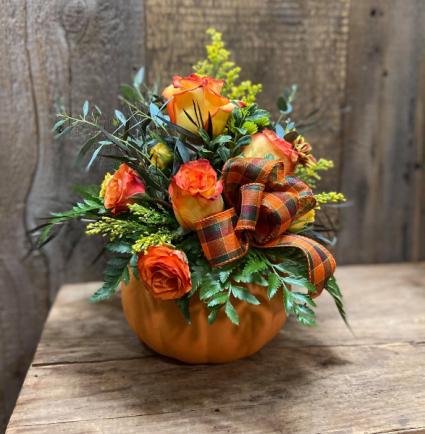 Pumpkin Blossoms Fall