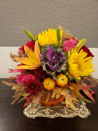 pumpkin  bouquet