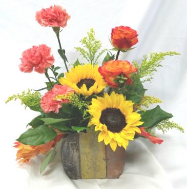 Pumpkin Box Fresh Floral Design