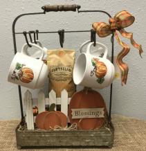 Pumpkin Coffee Gift Basket
