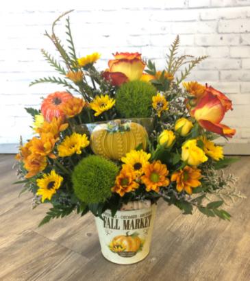 Pumpkin Cookie  Bouquet
