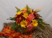 Pumpkin Delight Fall Arrangement