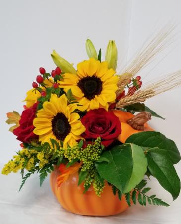 Pumpkin Floral