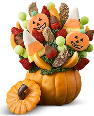 Pumpkin Fruit Bouquet NEW Fruitable Arrangment in Hampton Falls, NH | FLOWERS BY MARIANNE