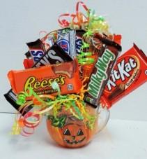 Pumpkin Mug of Goodies Artwork by Janelle Patterson