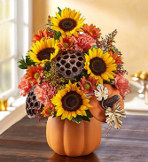 Pumpkin n' Posies™ Arrangement