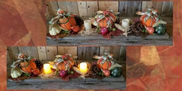 Pumpkin Patch artificial arrangement