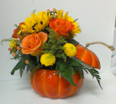 Pumpkin Patch Mixed fall flowers