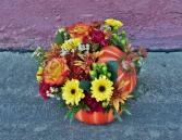 Pumpkin Patch Vase arrangement