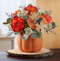 Pumpkin Petals™ Arrangement