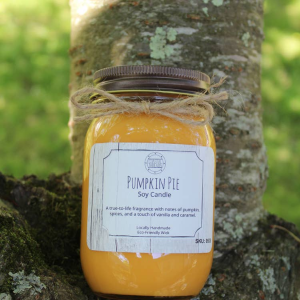 Pumpkin Pie Candle in Chatham, NJ | SUNNYWOODS FLORIST