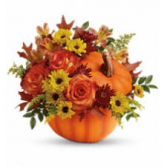 Pumpkin Spice Bouquet Fall Arrangement