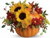 Pumpkin Spice  Flower Arrangement