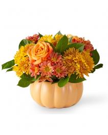 Pumpkin Spice Forever Bouquet Flower Arrangement