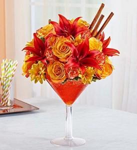 "Pumpkin Spice Martini Colorful ""Taste"" of the Season!"