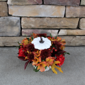 Pumpkin Spice Thanksgiving Flowers