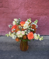 Pumpkin Spice Vase arrangement