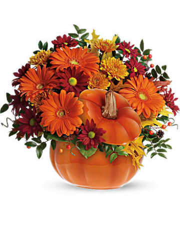 Pumpkin Spiced Fall Florals