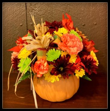 Pumpkin Splendor Arrangement