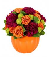 Pumpkin Surprise Arrangement