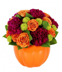 Pumpkin Surprise Arrangement