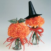 Pumpkins & Witches Flower Arrangements