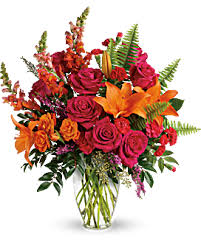Punch of Color A vibrant colorful arrangement (Anytime Arrangement)