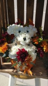 Pup-kin Fresh Puppy Bouquet