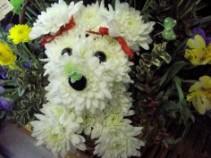 Puppy Basket Humane Society Bouquet