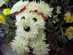 Puppy Basket Humane Society Bouquet in Longview, WA | BANDA'S BOUQUETS
