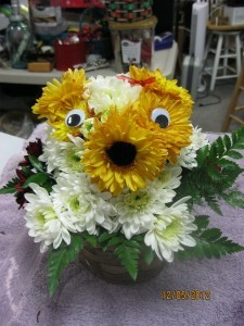 Puppy Love  Fresh Floral Arrangement