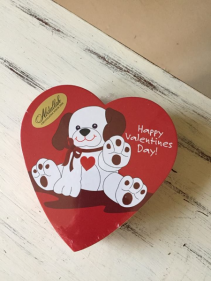 Puppy Dog Heart Candy