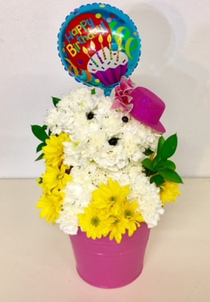 Puppy Love Floral Puppy Design in Plainview, TX | Kan Del's Floral, Candles & Gifts