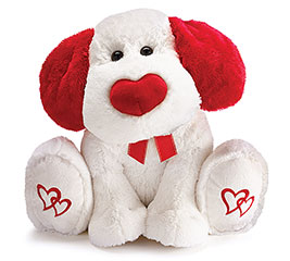 Puppy Love Plush Gift in Whitesboro, NY | KOWALSKI FLOWERS INC.