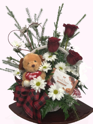 Puppy Love Roses and Daisies in West Monroe, LA | ALL OCCASIONS FLOWERS AND GIFTS