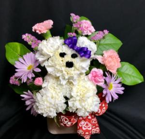 Puppy Love Valentine's Day  in North Platte, NE | PRAIRIE FRIENDS & FLOWERS