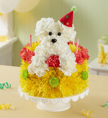 Astounding Puppy Party Cake Birthday In Johnstown Pa Laportas Flowers Gifts Funny Birthday Cards Online Alyptdamsfinfo