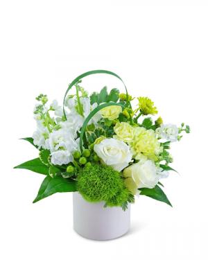 Pure Air Flower Arrangement in Nevada, IA | Flower Bed