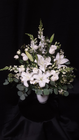 pure and loveable vase