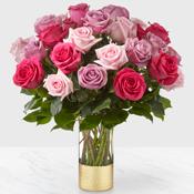 Pure Beauty Mixed Roses Arrangement