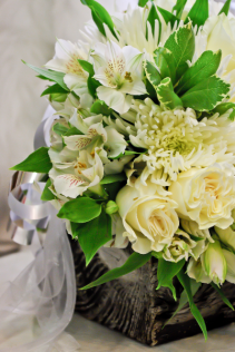 Pure  Bridal Bouquet