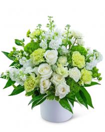 Pure Devotion Flower Arrangement