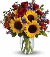 Pure Happiness Fall Flowers in Largo, FL   Rose Garden Florist