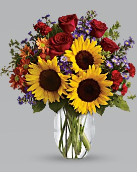 Pure Happiness Fresh Mixed Flower Arrangement in Auburndale, FL | The House of Flowers