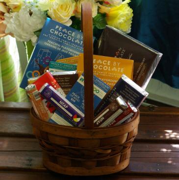 Pure Indulgence Peace By Chocolate Gift Basket