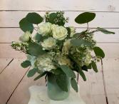 Pure Innocence Short Vase Arrangement