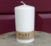 Pure Nature Wax Candle Pillar candle